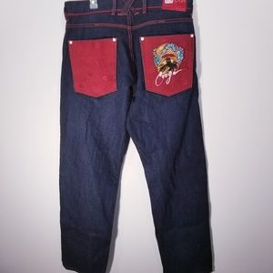 Coogi Australian Embroidered Jeans  36X34